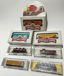 N Scale Freight Cars Atlas Bachmann And Life-like Train Lot