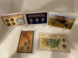 Wwii Silver War Nickels Mint Mark Collection Buffalo Nickels Collections And More