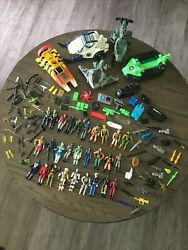 Vintage 1980andrsquos Gi Joe Action Figures Vehicles And Accessories Large Lot