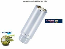 Carlyle Tools 3/8in Dribe 7/8 Inch New Spark Plug Socket