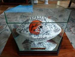 1964 Cleveland Browns Nfl Champions Autographed Football