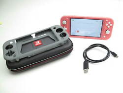 Nintendo Switch Lite Hdh-001 Handheld Video Game System Coral 1754