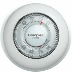Honeywell Home Heat Only Off White Round Wall Thermostat Ct87k1004/e1 Pack Of 3