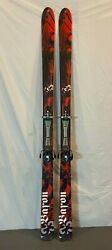G3 Baron 184cm 116-81-104 Back Country Skis Dynafit Ft Vertical 12 At Bindings