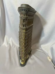 Dept 56 Christmas In The City Villageflat Iron Buildinglighted House