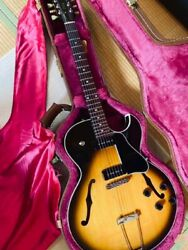 1995 Gibson Es-135 Vs W/hard Case From Japan