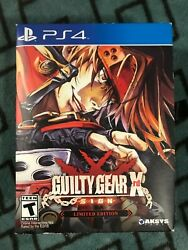 Guilty Gear Xrd -sign- Limited Edition Sony Playstation 4, 2014