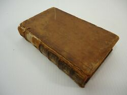 Antique Book 1741 Le Theatre Italien De Gherardi With Engravings And Music Pages