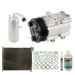 For Ford F-250 And F-350 Super Duty Oem Ac Compressor W/ Condenser Drier
