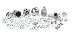 March Performance Big Block Chevy Track Style Pulley Kit P/n 21255