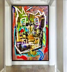 ORIGINAL ABSTRACT MODERN ART CONTEMPORARY ACRYLIC ON CANVAS PAINTING 32x24