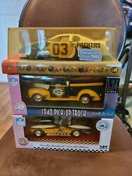 Green Bay Packers Diecast Car Collectibles