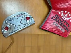 Titleist Scotty Cameron Select Newport M1 Mallet Putter W/head Cover From Japan