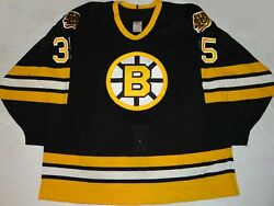 Authentic 1988 Boston Bruins Andy Moog Ccm Hockey Jersey 54g Custom Crafted