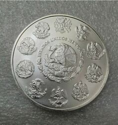 Lot Of 5 - 2020 1oz Mexican 999 Fine Silver Libertad Low Mintage