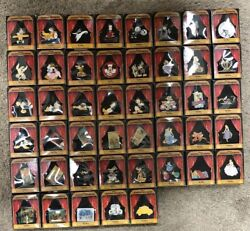 Disney Gallery Magical Moments Boxed Pin Collection 45 Pins Nib Complete Rare Le