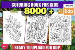 8000 coloring pages printable book
