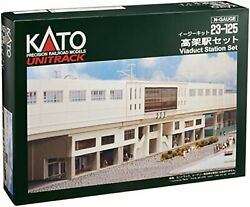 Kato 23-125 Double Track Viaduct Station Set N Scale F/s W/tracking Japan New
