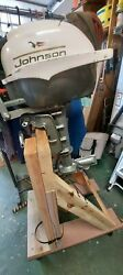 Andnbspvintage 1967 Johnson 3hp Folding Outboard Boat Motor- Near Mint Condition