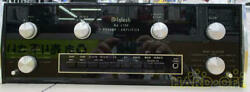 Mcintosh Ma 6100 Integrated Amplifier - Mm Phono Stage - Vintage Classic Black