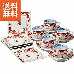 Life Support Hasami Ware Dream 10 000 History Kusa Flower Crest Coffee Bowl Dish