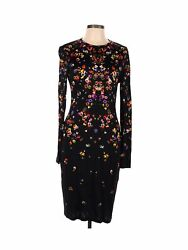 Givenchy Women Black Casual Dress 42 french $455.99