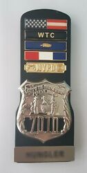 Insigne Et Mandeacutedailles Police De New York - Badge And Medals Bars Nypd - Usa Tbe