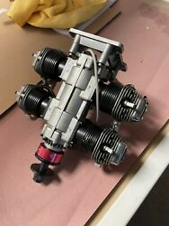 O.s. Engines Ff-240 Pegasus 4 Cylinders Ringed 4-stroke Gas Conversion