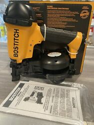 New Bostitch Rn46-1 Coil Roofing Nailer Power Tool.