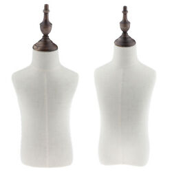 2pcs Mannequin Torso Clothing Display For 4 And 2 Years Old Kids Dressmaker