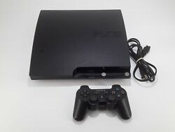 Sony Playstation 3/ Ps3 Slim 120gb Video Game Console Bundle-cech-2001a