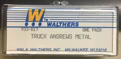 Vintage, Old Stock - Walthers Andrews Metal Trucks  Walthers Part 933-817