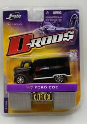 2006 Jada Toys 47 Ford Coe Wave 3 D-rods 164 All Metal Black Factory Sealed