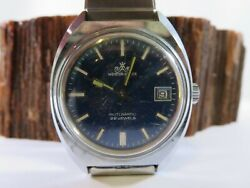 Vintage Meister Anker 22 Jewel Automatic Mens Diver Watch Wb1