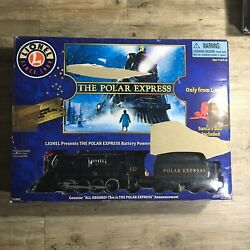 Lionel 711803 The Polar Express Ready To Play Train Set Black Christmas Open Box