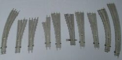 Shinohara Ho Scale Assorted Left Hand And Right Hand Switch/turnouts [10]