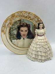 Vtg Gone With The Wind Scarlett O' Hara Ruffles And Lace Bradford Exchange Plate
