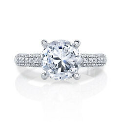 1.30 Carat Real Diamond Engagement Ring For Women Solid 950 Platinum Sizes 6 7 8