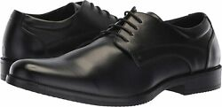 Brand New Van Heusen Men's Larry Black Oxford Style Dress Shoes Variety In Size