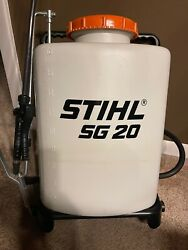 Stihl Sg 20 Backpack Sprayer - Excellent Used Condition...