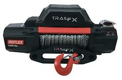 Trail Fx Wrs12b Vehicle Recovery Winch 12 Volt 12000lbs 94' Wire Rope