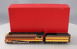 Key Imports 7002 Ho Brass Up 4-8-2 Steam Locomotive And Tender - Painted Ln/box