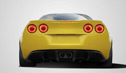Carbon Creations Gt Racing Rear Diffuser 5pc For 2005-2013 Corvette C6