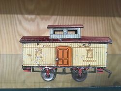 Ives 126 Caboose - Early 1904 To 1909 - Rare