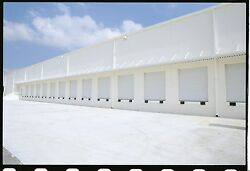 Duro Steel Amarr 2412 Series 10and039 X 10and039 Commercial Insulated Overhead Garage Door