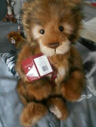Charlie Bear Wilfy Wears A Heart Necklace Has Padded Paws X