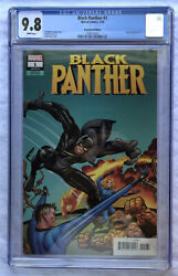 Black Panther #1 CGC 9.8 2018 Jack Kirby 1:500 Remastered Color Variant RARE