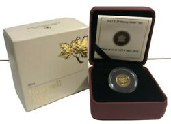 2012 Farewell Penny Limited Edition 1/25 Ounce Gold 1 - Cent Coin