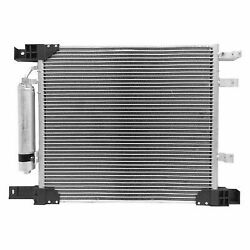 A/c Compressor And Condenser Cooling Fan Radiator Kit For 2012 Nissan Versa