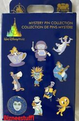 Disney 50th Anniversary Mystery Pin Collection 2 Random Pins In Box Unopened